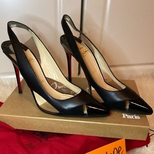 Authentic Christian louboutin size 37.5